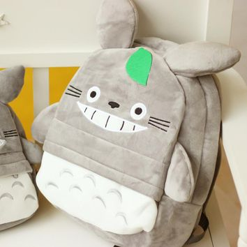 New Arriving Totoro Plush baby toy Backpack Cute Soft School Bag for Children Cartoon Bag for Kids Boys Girls friends toy Gifts