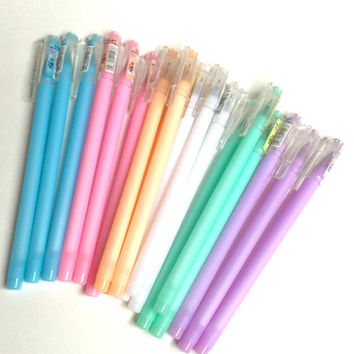Pastel Colours Gel Pen