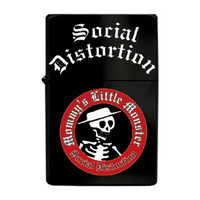 Social Distortion - Lighters - Wind Resistant