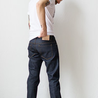 Railcar Fine Goods Selvedge Denim X005 [Railcar Denim X005] : ORN HANSEN, Vintage + American Made General Store