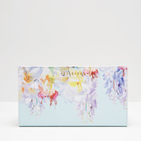 Hanging Gardens leather passport wallet - Mint | Gifts for Her | Ted Baker