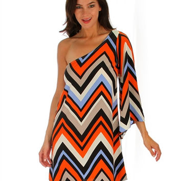 Best Chevron Dress With Sleeves Products on Wanelo