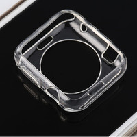 In Stock! Soft Thin TPU Protective Case Cover For Apple Watch For iWatch 42mm Screen Guard Newest