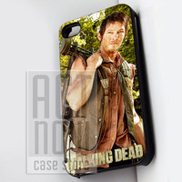 Daryl Dixon Walking Dead - for case iPhone 4/4s/5/5c/5s-Samsung Galaxy S2 i9100/S3/S4/Note 3-iPod 2/4/5-Htc one-Htc One X-BB Z10