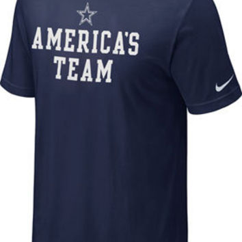 Dallas Cowboys Navy America's Team Nike T-Shirt