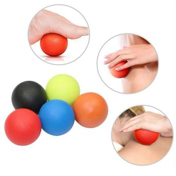 Massage Lacrosse Roller Ball Trigger Point Exercise Sports Yoga Ball Muscle Relax Relieve Fatigue Roller