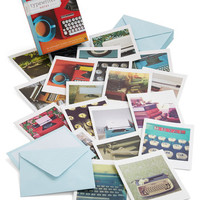 Chronicle Books Vintage Inspired Just My Typewriter Notecard Set