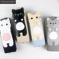 Cat Lovers Kawaii Pencil Case