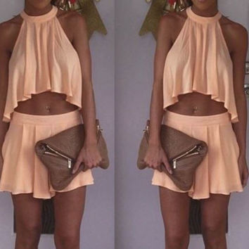Peach Sorbet Two-Piece