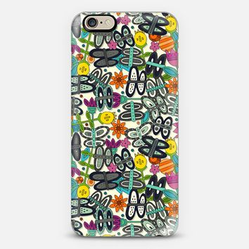 butterfly pop garden iPhone 6 case by Sharon Turner | Casetify