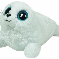 TY Beanie Boos - ICEBERG the White Seal ( Beanie Baby Size - 6 inch )