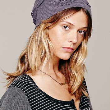 Free People Tatted Cap Beanie