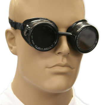 Welding Goggles - Basic Black Eyecup, Vented Style