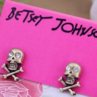 Jolly Roger Skull Earrings