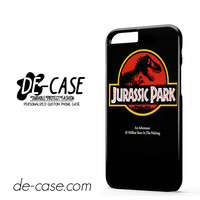 Jurassic Park For Iphone 6 Iphone 6S Iphone 6 Plus Iphone 6S Plus Case Phone Case Gift Present YO