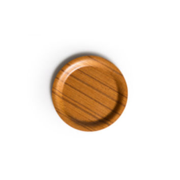 Japanese Pressed Wood Coaster