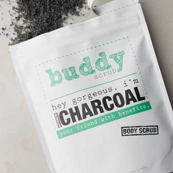 Buddy Scrub Activated Charcoal Body Scrub