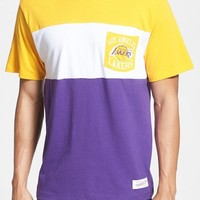 Men's Mitchell & Ness 'Los Angeles Lakers - Margin of Victory' Tailored Fit