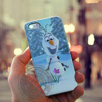 Olaf Disney Frozen Case for Iphone 4, 4s, Iphone 5, 5s, Iphone 5c, Samsung Galaxy S3, S4, S5, Galaxy Note 2, Note 3.