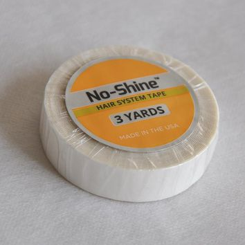 1/2 inch*3yard No-Shine Professional Hair System Adhesives Tape For Toupee/Lace Wig/Pu Extension 1pcs