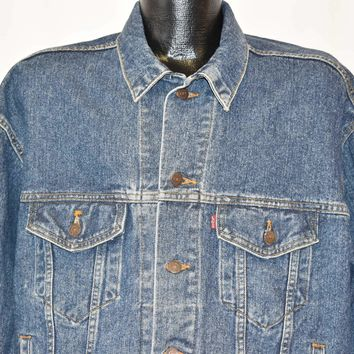 90s Levis 507 Type 3 Trucker Denim Jacket Large