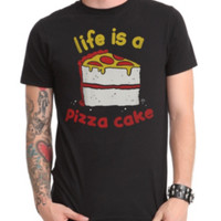 Life Is A Pizza Cake T-Shirt