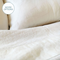 USA Made French Linen Pillowcase
