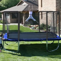 Skywalker Trampolines 15-ft. Square Trampoline and Enclosure Combo | www.hayneedle.com