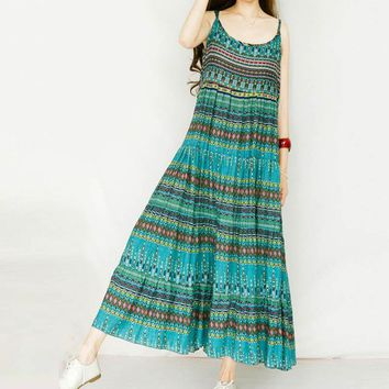 Women's Rayon Summer Casual Maxi Dress.    Small to 5XL.    Colors: Green and Deep Wine.   ***FREE SHIPPING***