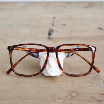 vintage tortoise shell eyeglass frames la prima optics oversized
