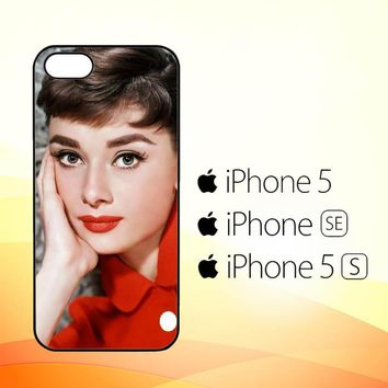 audrey hepburn Y0552  iPhone 5|5S|SE Case