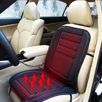 Universal Car Seat Covers 12V Auto Heating Cushion Pad Car Heated Seat Covers Auto Seat Covering Cushions Interior Accessories