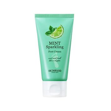 [SKINFOOD] Mint Sparkling Foot Cream
