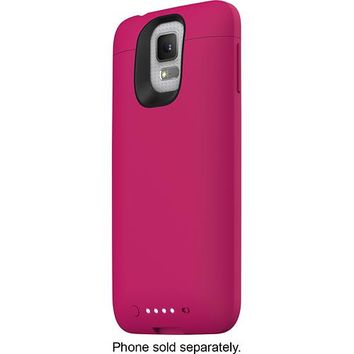 mophie - juice pack External Battery Case for Samsung Galaxy S 5 Cell Phones - Pink