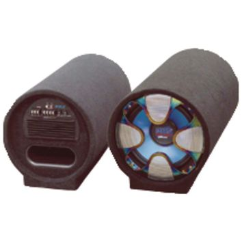 """Pyle Pro Blue Wave Series Amplified Subwoofer Tube System (8"""", 250 Watts) PYLPLTAB8"""