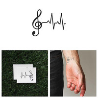 Lifeline - Temporary Tattoo (Set of 2)