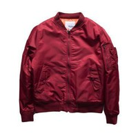 Hip-Hop Street Kanye West Ma1 Pink Bomber Jacket Homme Season 3 Air Force One Fbi Anarchy Bomber Jacket Men
