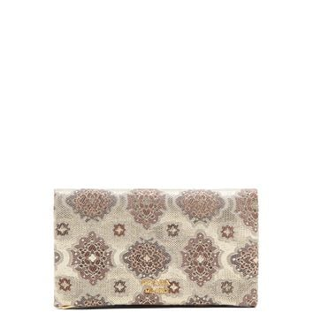 Brocade silk clutch | Prada | MATCHESFASHION.COM UK