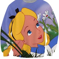 Alice in Wonderland Crewneck Sweatshirt