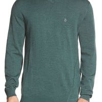 Men's Volcom 'Upstand' Slim Fit V-Neck Sweater,