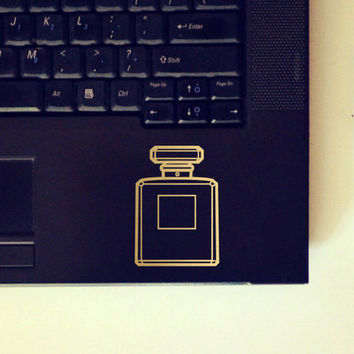 Perfume Bottle Sticker / Vinyl Decal / Laptop Decal / Car Decal / Fashion Sticker / Chanel / VNL Company