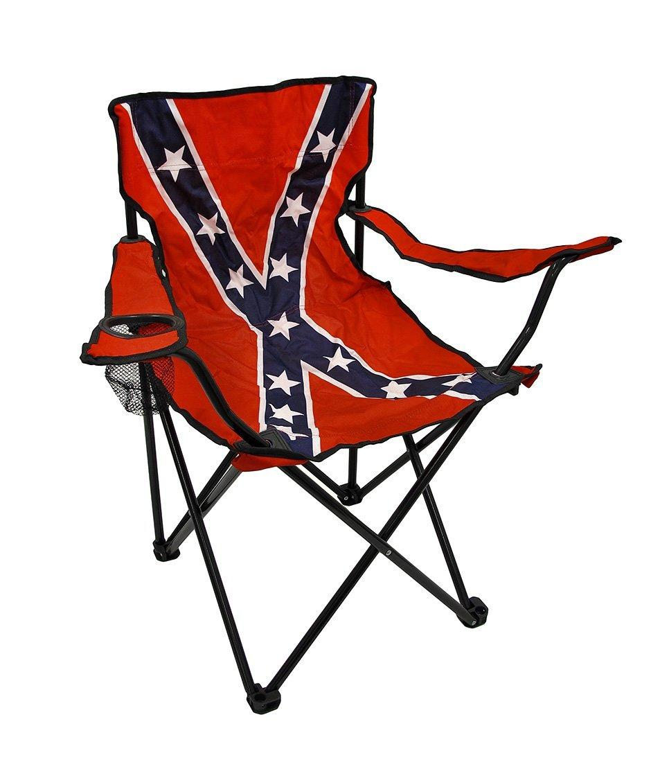 Confederate Flag Nylon Folding Camp Chair From Amazon