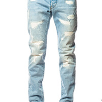 G-Star 3301 Slim LT Aged Restored Wisk Denim