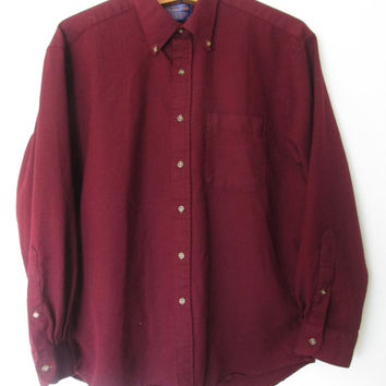 Vintage Pendleton Wool Buttondown Shirt