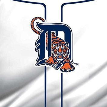 MLB Detroit Tigers iPad Mini 3 Skin - Detroit Tigers Home Jersey Vinyl Decal Skin For