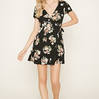 Floral Print Wrap Dress | Forever 21 - 2000177274