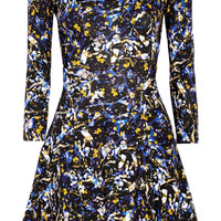 Erdem - Vivi printed stretch-cotton mini dress