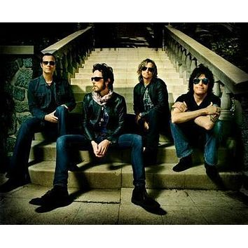 Stone Temple Pilots poster Metal Sign Wall Art 8in x 12in