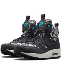 Nike x Liberty Dark Grey Belmont Ivy Liberty Print Air Max 1 Mid Sneaker Boots | Shoes by Nike x Liberty | Liberty.co.uk