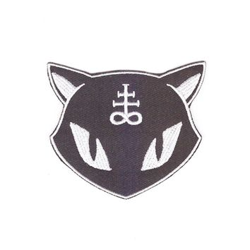 new product, everybody likes very cool evil cat clothes patch